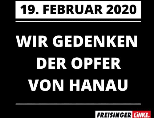 Wir Gedenken der Opfer von Hanau