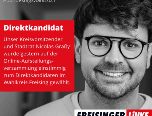 Nicolas Pano Graßy zum Direktkandidaten zur Bundestagswahl 2021 für den Wahlkreis Freising gewählt