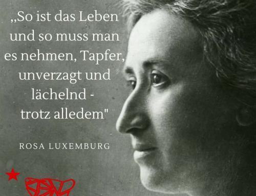Heute wäre Rosa Luxemburg 150 Jahre geworden.